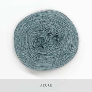 Coast Fingering-Yarn-Holst Garn-Azure-The Sated Sheep