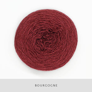 Coast Fingering-Yarn-Holst Garn-Bourgone-The Sated Sheep