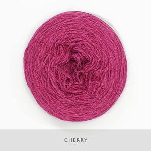 Coast Fingering-Yarn-Holst Garn-Cherry-The Sated Sheep