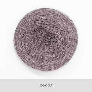 Coast Fingering-Yarn-Holst Garn-Cocoa-The Sated Sheep