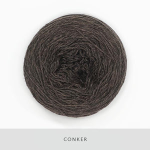 Coast Fingering-Yarn-Holst Garn-Conker-The Sated Sheep
