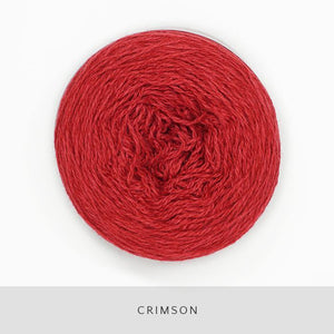 Coast Fingering-Yarn-Holst Garn-Crimson-The Sated Sheep