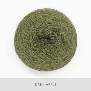 Coast Fingering-Yarn-Holst Garn-Dark Apple-The Sated Sheep