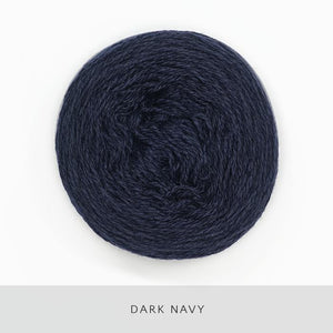 Coast Fingering-Yarn-Holst Garn-Dark Navy-The Sated Sheep
