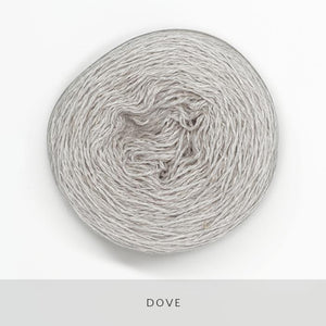 Coast Fingering-Yarn-Holst Garn-Dove-The Sated Sheep