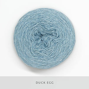 Coast Fingering-Yarn-Holst Garn-Duck Egg-The Sated Sheep