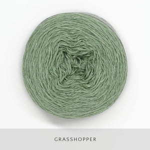 Coast Fingering-Yarn-Holst Garn-Grasshopper-The Sated Sheep