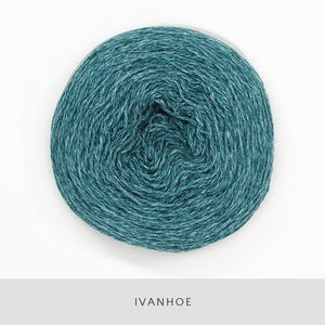 Coast Fingering-Yarn-Holst Garn-Ivanhoe-The Sated Sheep
