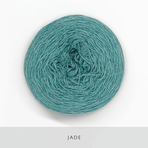 Coast Fingering-Yarn-Holst Garn-Jade-The Sated Sheep