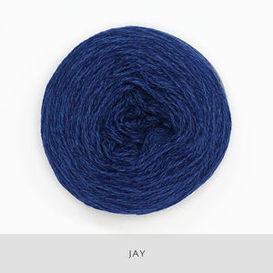 Coast Fingering-Yarn-Holst Garn-Jay-The Sated Sheep