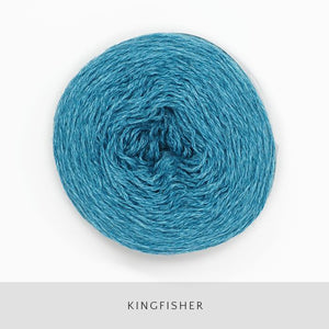 Coast Fingering-Yarn-Holst Garn-Kingfisher-The Sated Sheep