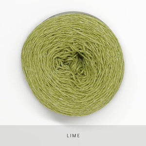 Coast Fingering-Yarn-Holst Garn-Lime-The Sated Sheep