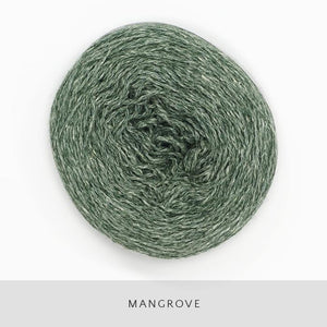 Coast Fingering-Yarn-Holst Garn-Mangrove-The Sated Sheep