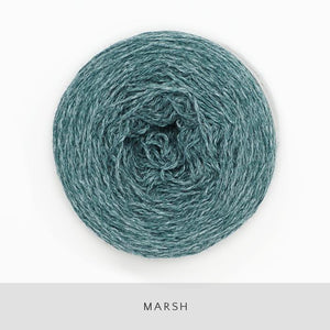 Coast Fingering-Yarn-Holst Garn-Marsh-The Sated Sheep
