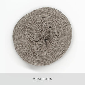 Coast Fingering-Yarn-Holst Garn-Mushroom-The Sated Sheep