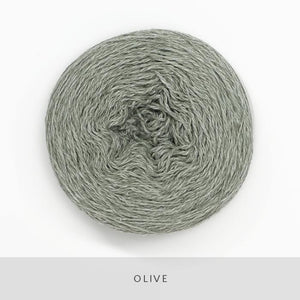 Coast Fingering-Yarn-Holst Garn-Olive-The Sated Sheep
