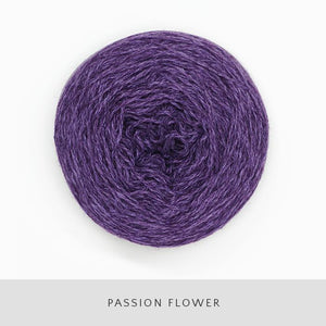 Coast Fingering-Yarn-Holst Garn-PassionFlower-The Sated Sheep