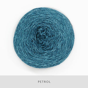 Coast Fingering-Yarn-Holst Garn-Petrol-The Sated Sheep