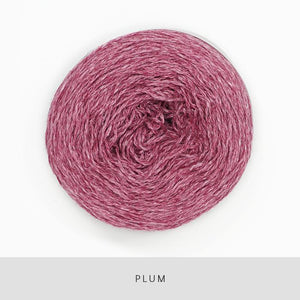 Coast Fingering-Yarn-Holst Garn-Plum-The Sated Sheep