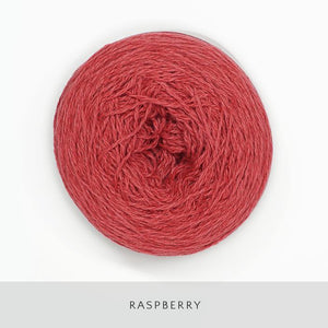 Coast Fingering-Yarn-Holst Garn-Raspberry-The Sated Sheep