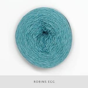 Coast Fingering-Yarn-Holst Garn-Robins Egg-The Sated Sheep