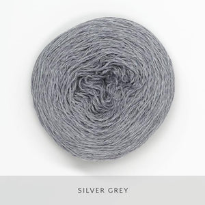 Coast Fingering-Yarn-Holst Garn-Silver Grey-The Sated Sheep