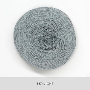 Coast Fingering-Yarn-Holst Garn-Skylight-The Sated Sheep