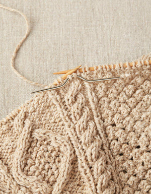 Curved Cable Needles-Notions-CocoKnits-The Sated Sheep