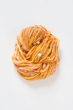 Daisy Chain-Yarn-Knit Collage-Sweet Papaya-The Sated Sheep