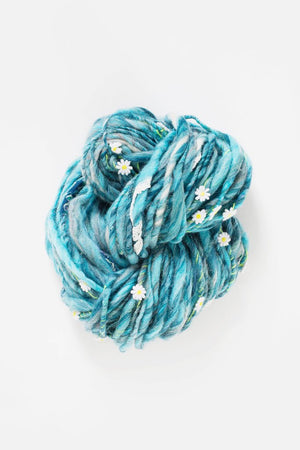 Daisy Chain-Yarn-Knit Collage-Frosty Azure-The Sated Sheep