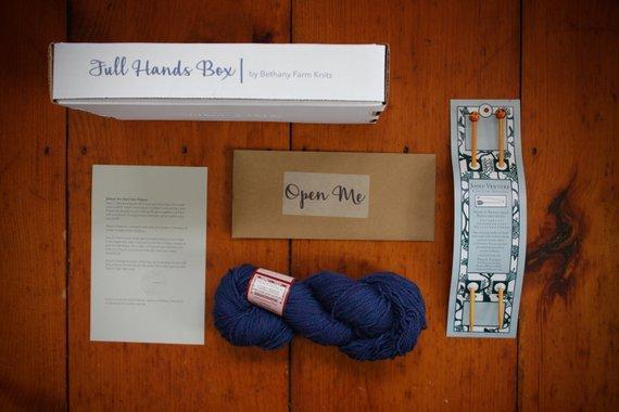 Full Hands Box-Yarn-BFarmsKnits-Empty Nest-The Sated Sheep
