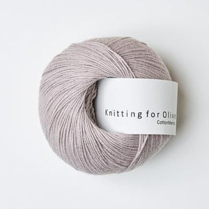 KFO Cotton Merino-Yarn-Knitting for Olive-Mousie Rose-The Sated Sheep