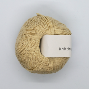 KFO Pure Silk-Yarn-Knitting for Olive-Wheat-The Sated Sheep