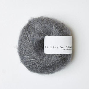 KFO Soft Silk Mohair Lace-Yarn-Knitting for Olive-Lead-The Sated Sheep