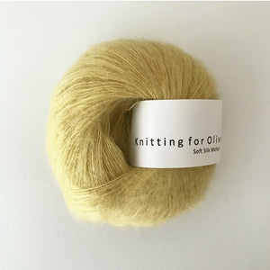 KFO Soft Silk Mohair Lace-Yarn-Knitting for Olive-Quince-The Sated Sheep