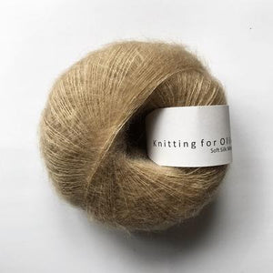 KFO Soft Silk Mohair Lace-Yarn-Knitting for Olive-Trenchcoat-The Sated Sheep