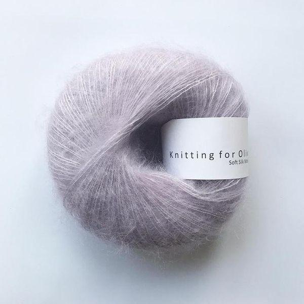 KFO Soft Silk Mohair Lace-Yarn-Knitting for Olive-Unicorn Purple-The Sated Sheep