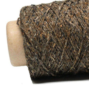 Kinu Lace-Yarn-Ito Yarns-354 Dk Brown-The Sated Sheep