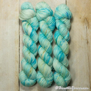Lumos Fingering-Yarn-Biscotte Yarns-Carribean-The Sated Sheep
