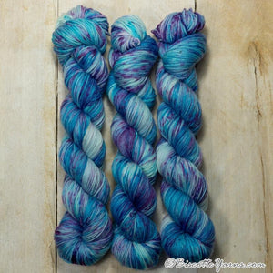 Lumos Fingering-Yarn-Biscotte Yarns-Hydrangea-The Sated Sheep