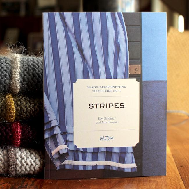 MDK Field Guides 1- Stripes-Books-Mason Dixon Knitting-The Sated Sheep