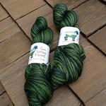 MCS Fingering-Yarn-Sun Valley Fibers-Tree Frog-The Sated Sheep