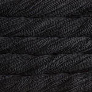 Merino Worsted-Yarn-Malabrigo-195 Black-The Sated Sheep
