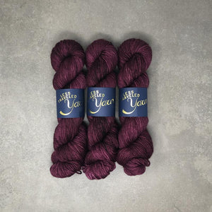 Traveling Yarn Suri Alpaca-Yarn-Traveling Yarn-Merlot-The Sated Sheep