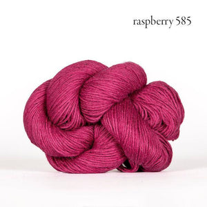 Mojave Sport-Yarn-Kelbourne-585 raspberry-The Sated Sheep
