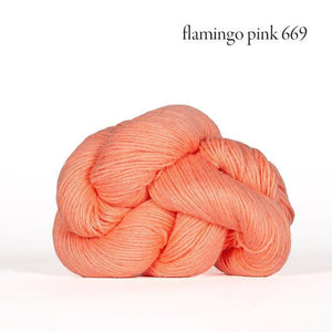 Mojave Sport-Yarn-Kelbourne-669 flamingo pink-The Sated Sheep