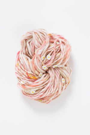 Daisy Chain-Yarn-Knit Collage-Natural Aura-The Sated Sheep