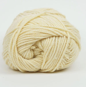 Perfection Dk-Yarn-Kraemer Yarns-Buttercream 2244-The Sated Sheep