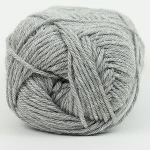 Perfection Dk-Yarn-Kraemer Yarns-Grey 2262-The Sated Sheep