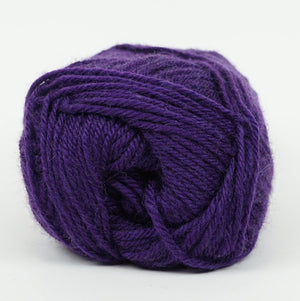 Perfection Dk-Yarn-Kraemer Yarns-Purple 2257-The Sated Sheep